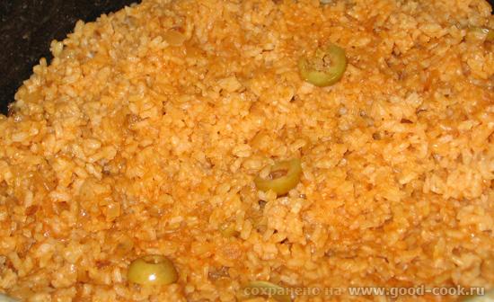 рис с оливками