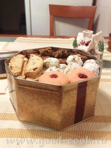 """Рождественская подарочная выпечка была следующей: печенье """"снежки"""" и желейное печенье от Ирины Jazz... - 2"""