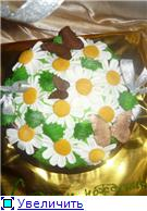 торт корзинка белых цветов торт корзина ромашек - 5