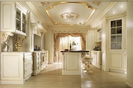 Как вам кухни в царском стиле