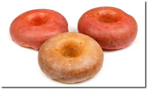 Ой Донаты это и есть пончики, ток по американски