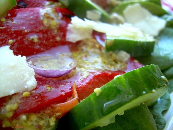 салат с красным