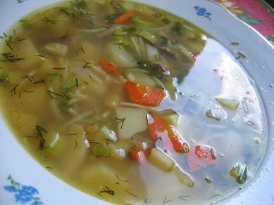 суп по домашнему картофель,морковь,кабачки,цветную капусту(у меня не было) ,лук обжарить чтобы появ...