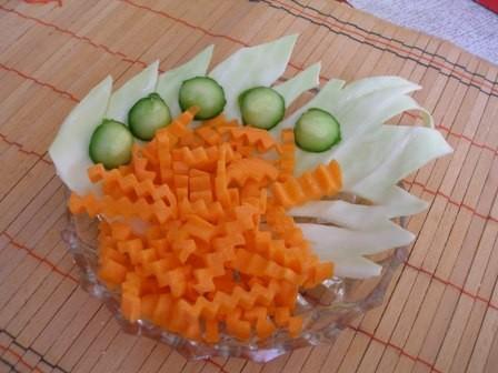 А у меня совсем простые салатики, однако аппетит пробуждают зверский - 3