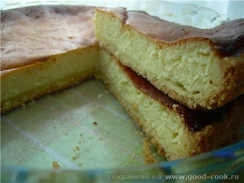 """Надя не зря спрашивала рецепт Сырный пирог """"Дело случая"""" , он очень вкусный вышел"""