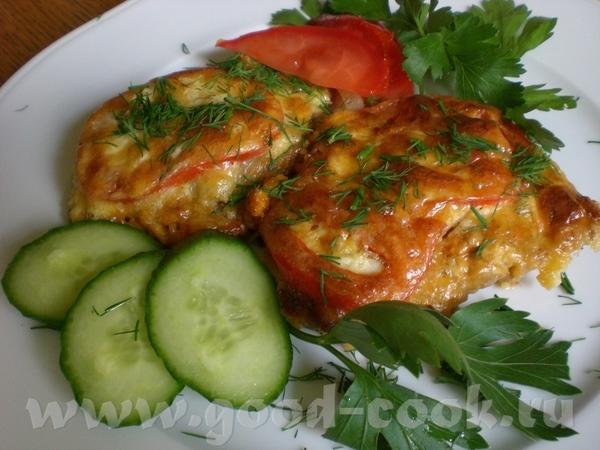 Очень вкусные бифштексы (Minutensteak) в сметанно-сырной заливке