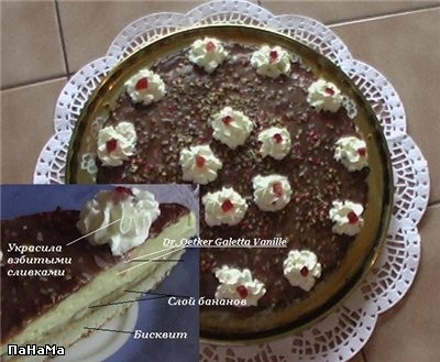 Можно я сегодня вам тортик покажу, называется он Affennkuchen, т