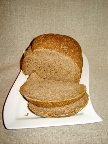 """Европейский хлеб на сыворотке для хлебопечки За основу взят рецепт из книги """"Bread Baker Bible"""""""
