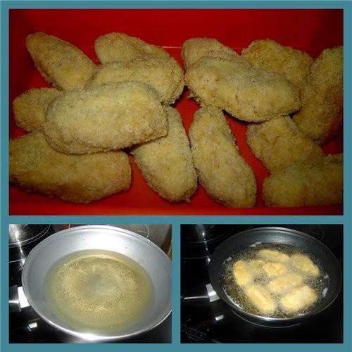 Сroquetas de jamon serrano (Крокеты с вяленой ветчиной) лук - 1 шт - 2