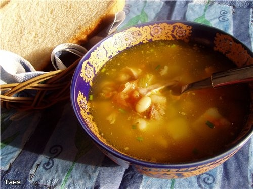 Как приготовить суп в мультиварке.