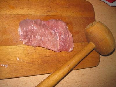 Острые закусочные рулетики На 10-12 штук 1 кг филе свинины, 4-5 ст - 2