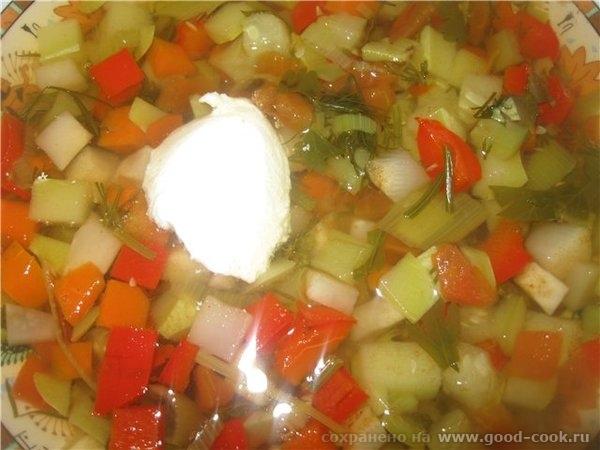 СУП ОВОЩНОЙ ( диетический) Незатейливый, но очень полезный и приятный диетический суп