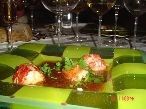 Божественно вкусные лобстеры под кисло-сладким соусом