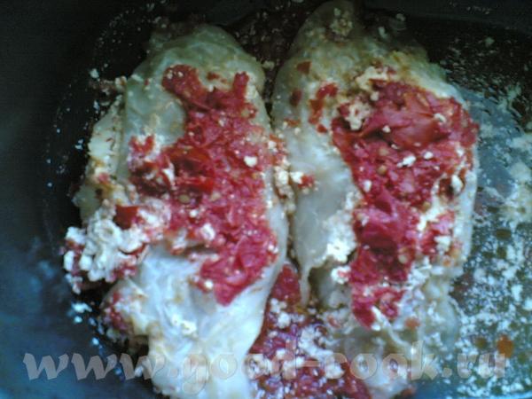 Сегодня я делала мясо-овощные голубцы