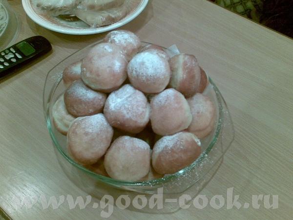 Пончикомания продолжается)))))) Пол-порции, маленькими делала, 40 шт