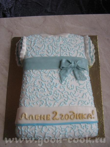 Мои тортики Копировала с реального фото, заказчица в восторге - получилось - 3