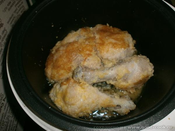 Куриные окорочка в картофельной панировке