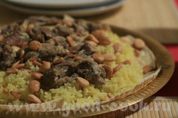 Вот приготовила Мансеф, традиционное иорданское блюдо по рецепту Вики-Серафимы