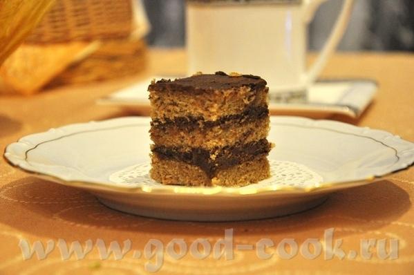 Шоколадные пирожные с ромом