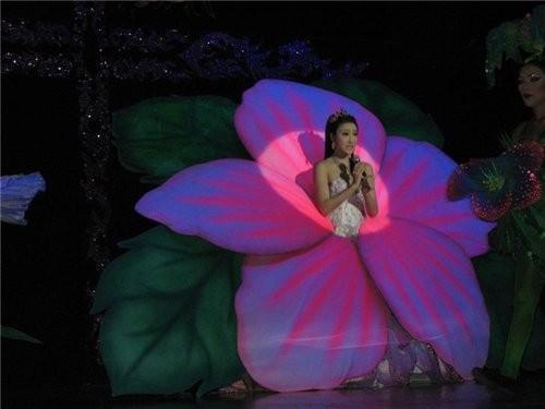 вот эта девушка пела на китайском языке,чем привела почти весь зал в восторг,почему