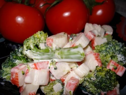 "Принесла ""фото-спасибо"" за рецепт ""Крабового салатика с брокколи"" Вкусно"