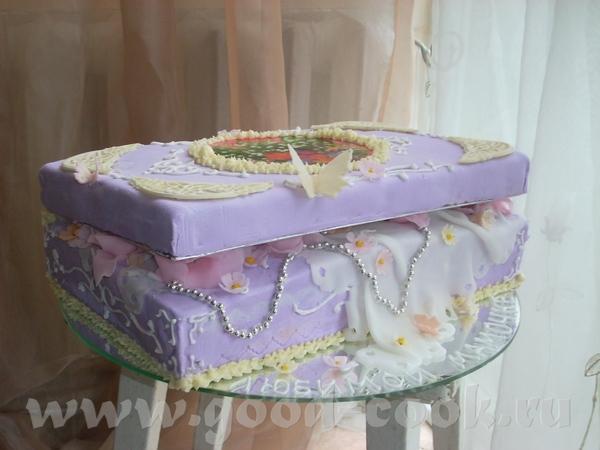 Торт-шкатулка фото и мк
