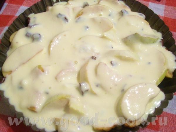 мне так хотелось десерта из яблок, с обязательным наличием шоколада и структурой суфле - 2
