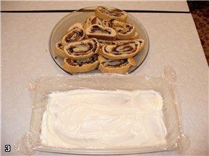 "Торт ""ЛАБИРИНТ"" с черносливом и курагой Для теста: 1яйцо, 1 стакан сметаны, 1 стакан сахара, 1 стол... - 4"