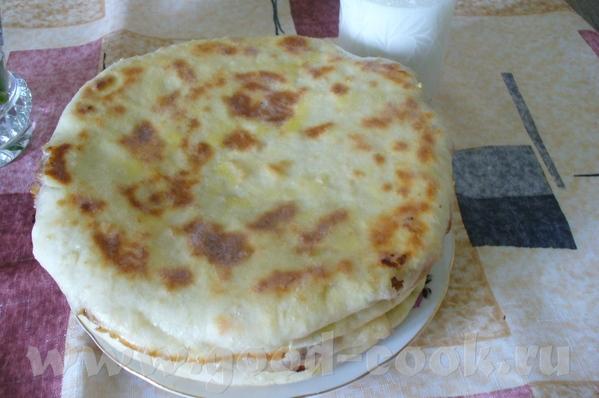 Хычины Хычины это пироги из обычного теста замешанного из любых кисло- молочных продуктов, кефира,... - 2