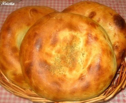 Зеленая фасоль Таджикские лепешки от Махи , рецепт здесь - 2