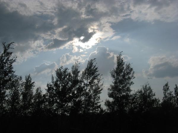 Еще небо в рябчик и закаты радуга - 2