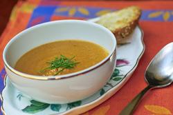 Горячие cупы Супы овощные С грибами и баклажанами Суп-пюре грибной Суп из баклажанов с грибами от C... - 5