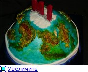 торт губка Боб торт планета - 8