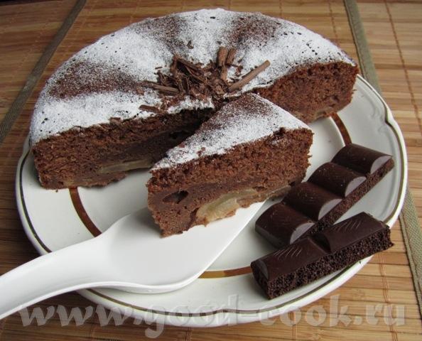 Леночка, спасибо тебе за рецепт шоколадно-грушевого бисквита