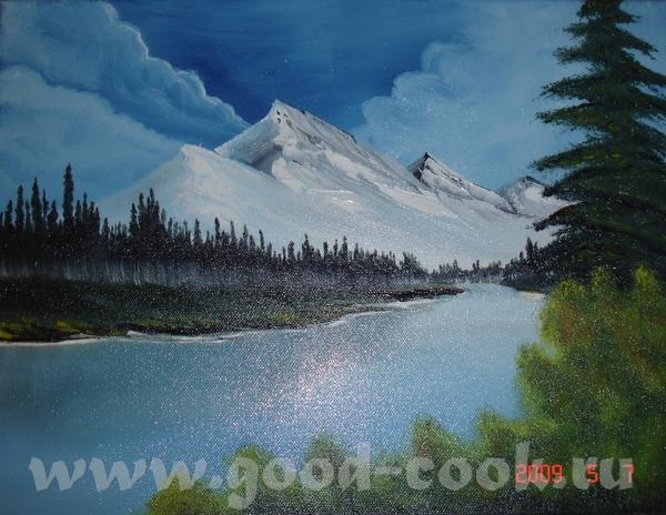 снежные горы с Бобом Россом