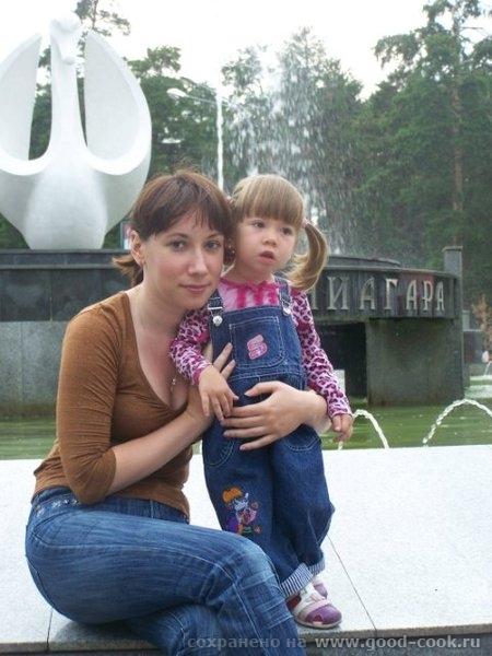 Это еще фото из Челябинска с фотоаппарата сестры, так что тут даже есть я) Дочка с двобродным братом Это снова ЦПКи... - 7