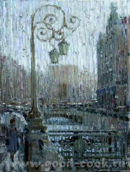 Прекрасный дождь, великолепная картина, красота