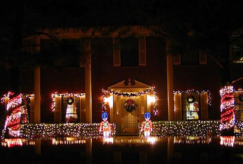Каждое Рождество наш район украшается огнями - 2