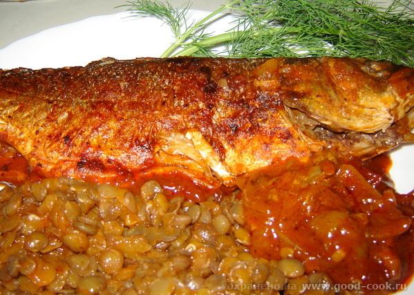 Pescado en escabeche Рыба в маринаде продукты: Рыба - 700г Соль и перец черный в зернышках Уксус (5...
