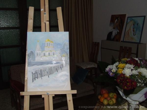Попытка нарисовать церковь