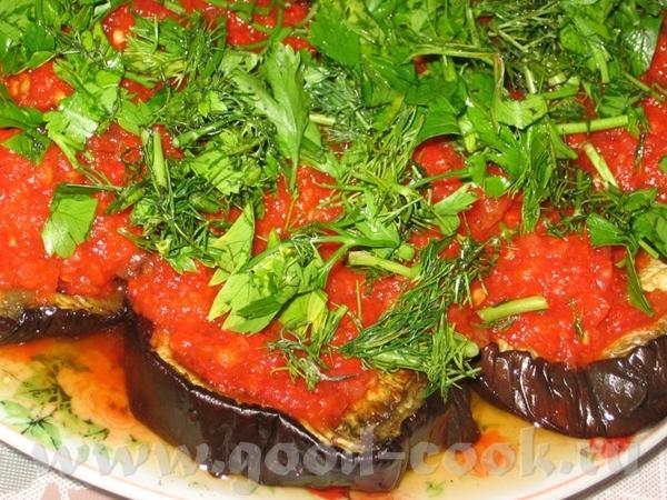 Большое спасибо Алисе- за очень вкусную Закуску из баклажан с красным соусом - 2