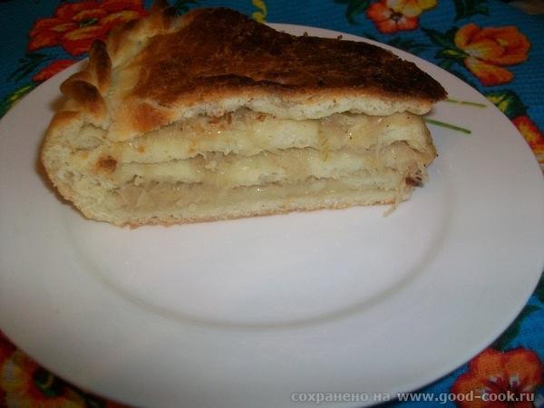 Этот рецепт пирога нашла на одном из кулинарных форумов автор dar'yshka - 2