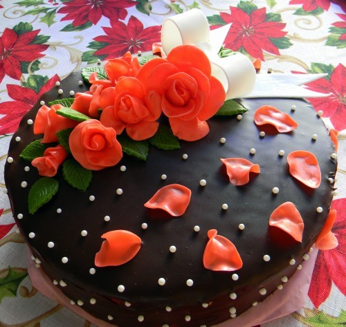 свадебный классный тортик - 2