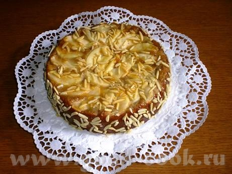 Яблочно-марципановый пирог Для теста: 2ст