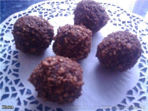 Спасибо Алисе alisia за рецепт Скандинавские шоколадные трюфеля