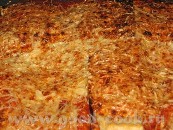 И еще одно блюдо с Песаха: Лазанья из мацы
