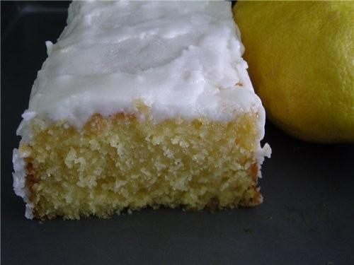 """Яично-лимонный кекс источник: журнал """"Гастрономъ"""", #05 (64), 2007 Что нужно: 280 г муки 2 ст - 2"""