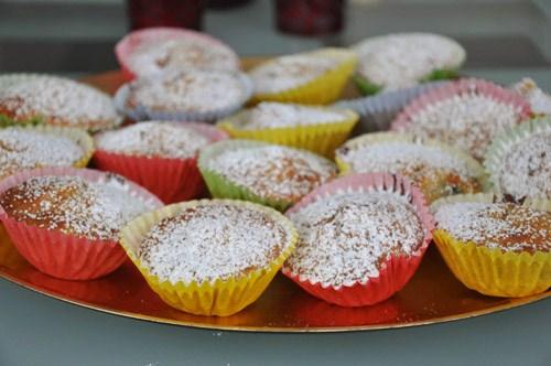 Очень- банановые кексы с шоколадом Творожные кексы с изюмом - 2
