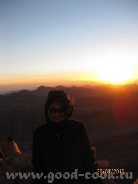 ну и конечно самым главным впечатлением было паломничество на гору Моисея - 6