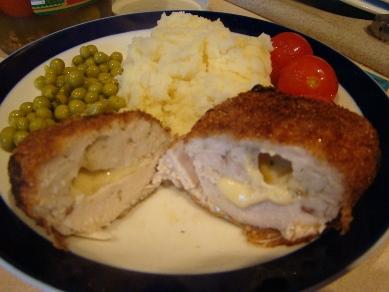"""Я назвала это блюдо Куриные грудки """"а ля Драники"""" :-) и почти котлеты по-киевски модифицированные,... - 2"""